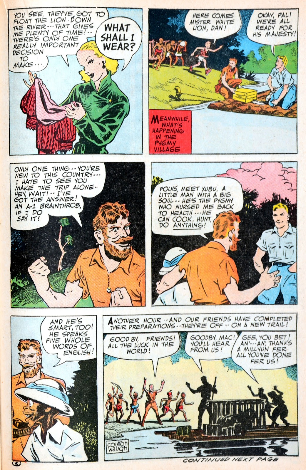 Read online Famous Funnies comic -  Issue #120 - 30