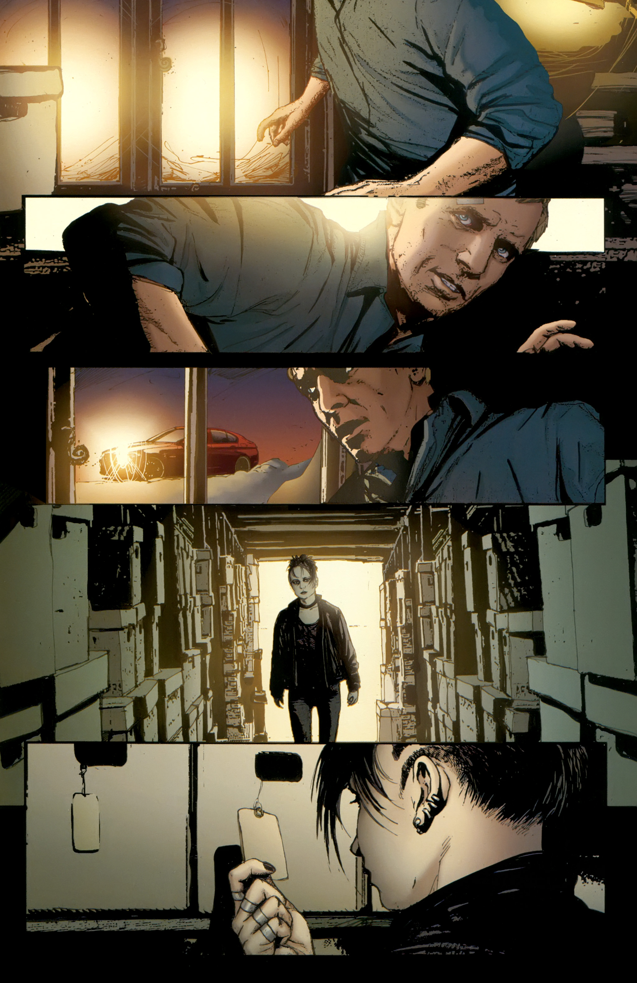 Read online The Girl With the Dragon Tattoo comic -  Issue # TPB 2 - 77