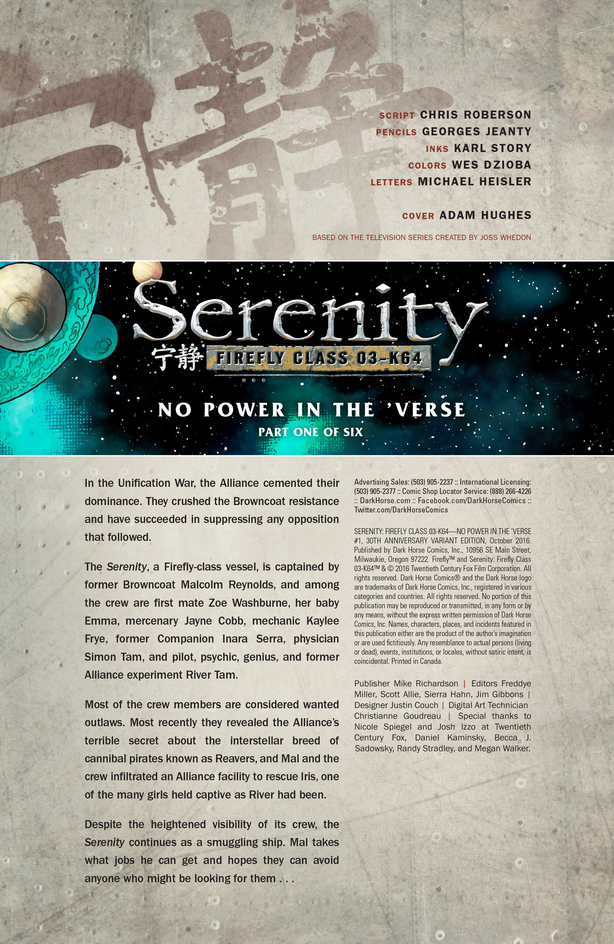 Read online Serenity: Firefly Class 03-K64 – No Power in the 'Verse comic -  Issue #1 - 9