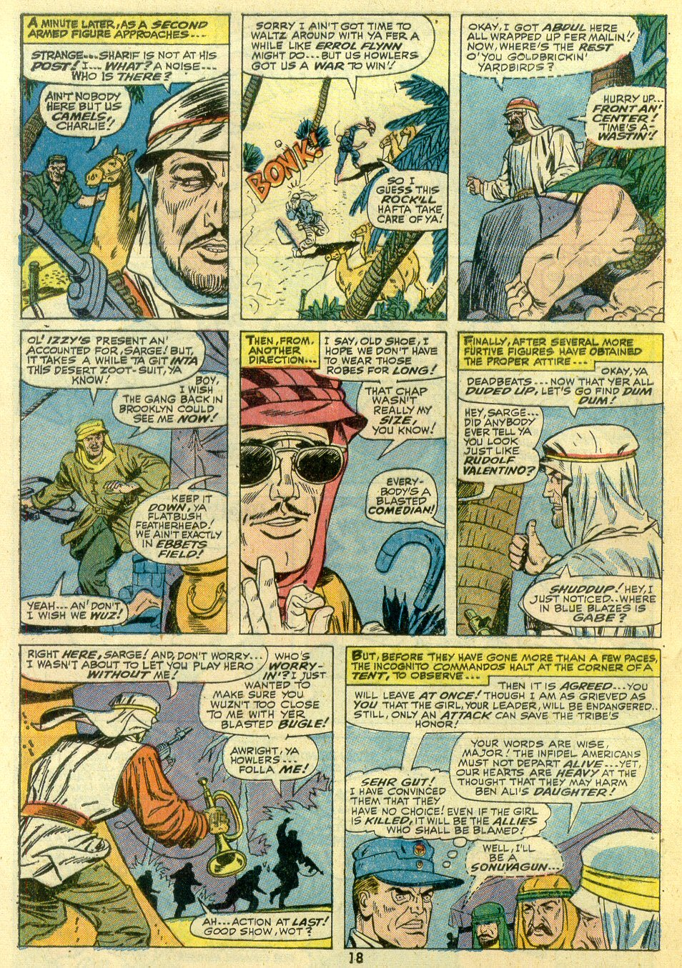 Read online Sgt. Fury comic -  Issue #107 - 20
