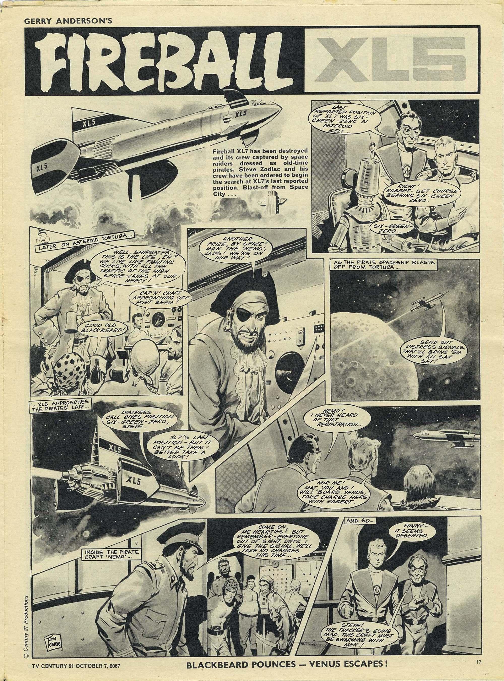 Read online TV Century 21 (TV 21) comic -  Issue #142 - 16