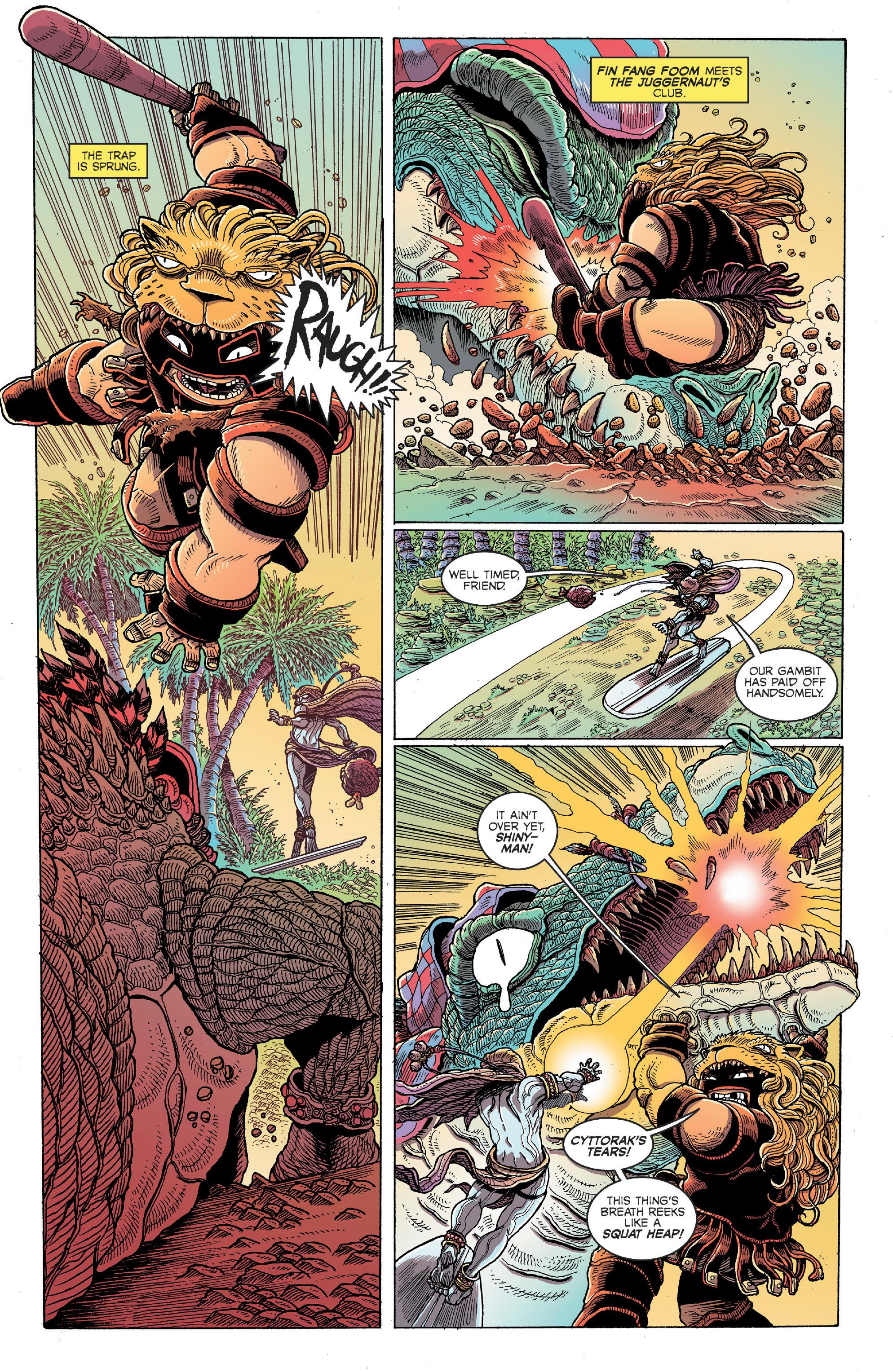 Read online Secret Wars: Battleworld comic -  Issue #4 - 5