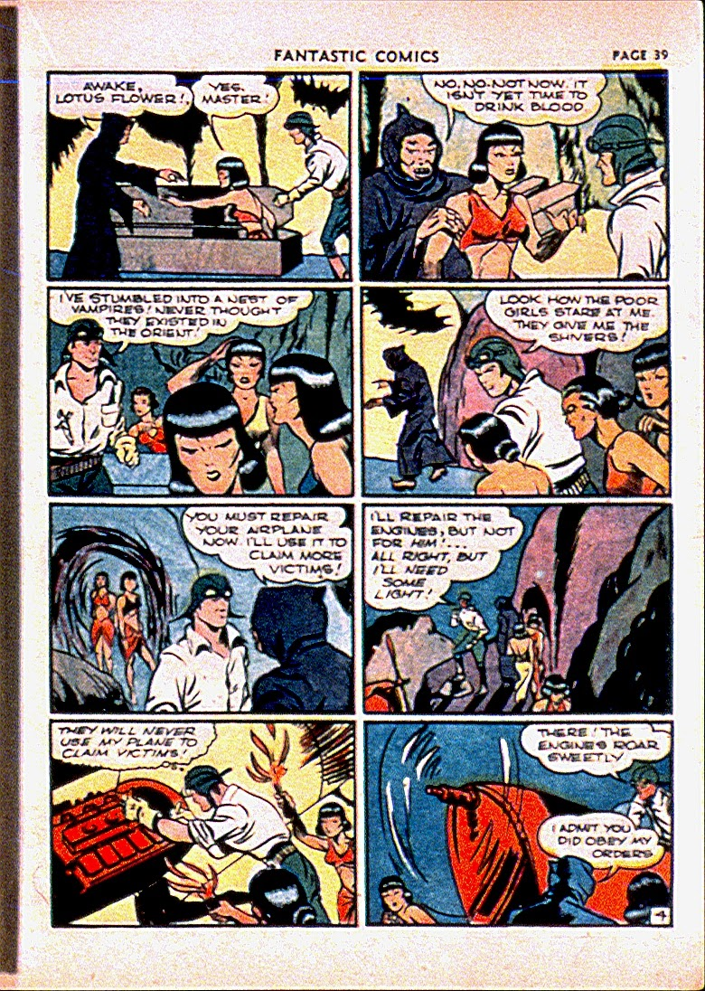 Fantastic Comics issue 13 - Page 42