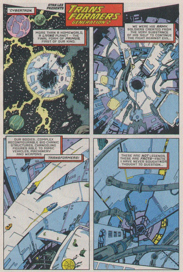 Read online Transformers: Generation 2 comic -  Issue #5 - 2