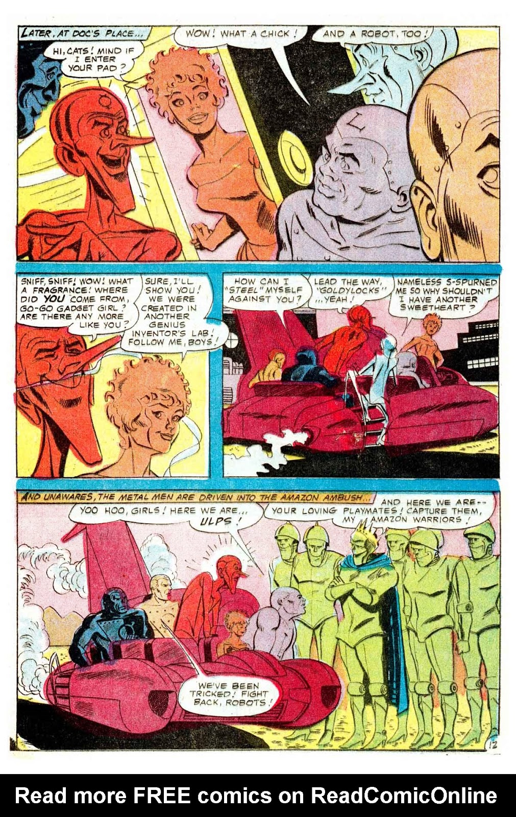 Metal Men (1963) issue 32 - Page 16
