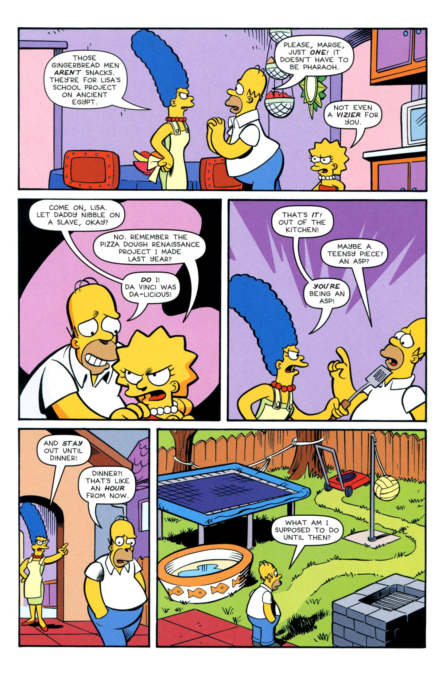 Read online Simpsons Comics comic -  Issue #195 - 4