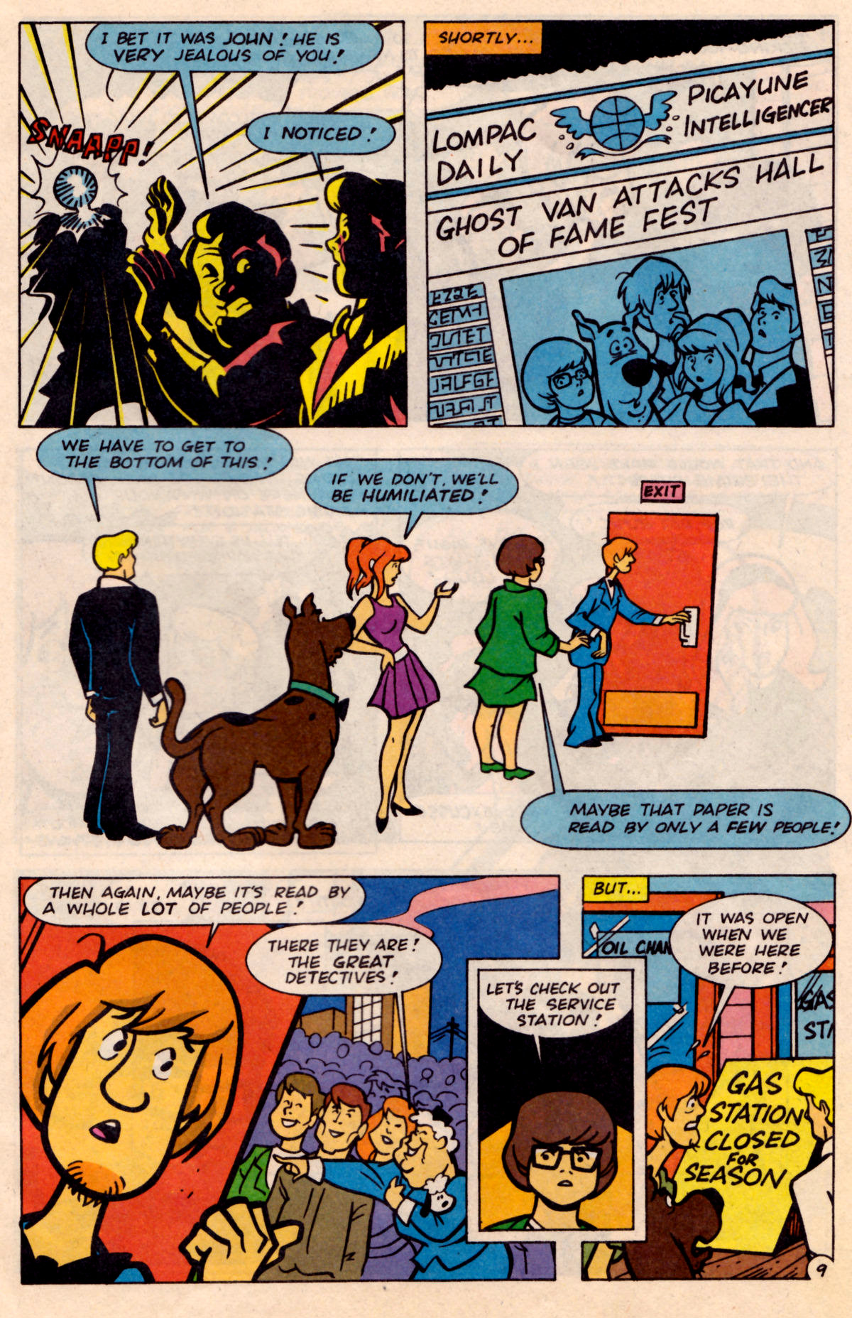 Read online Scooby-Doo (1995) comic -  Issue #18 - 10