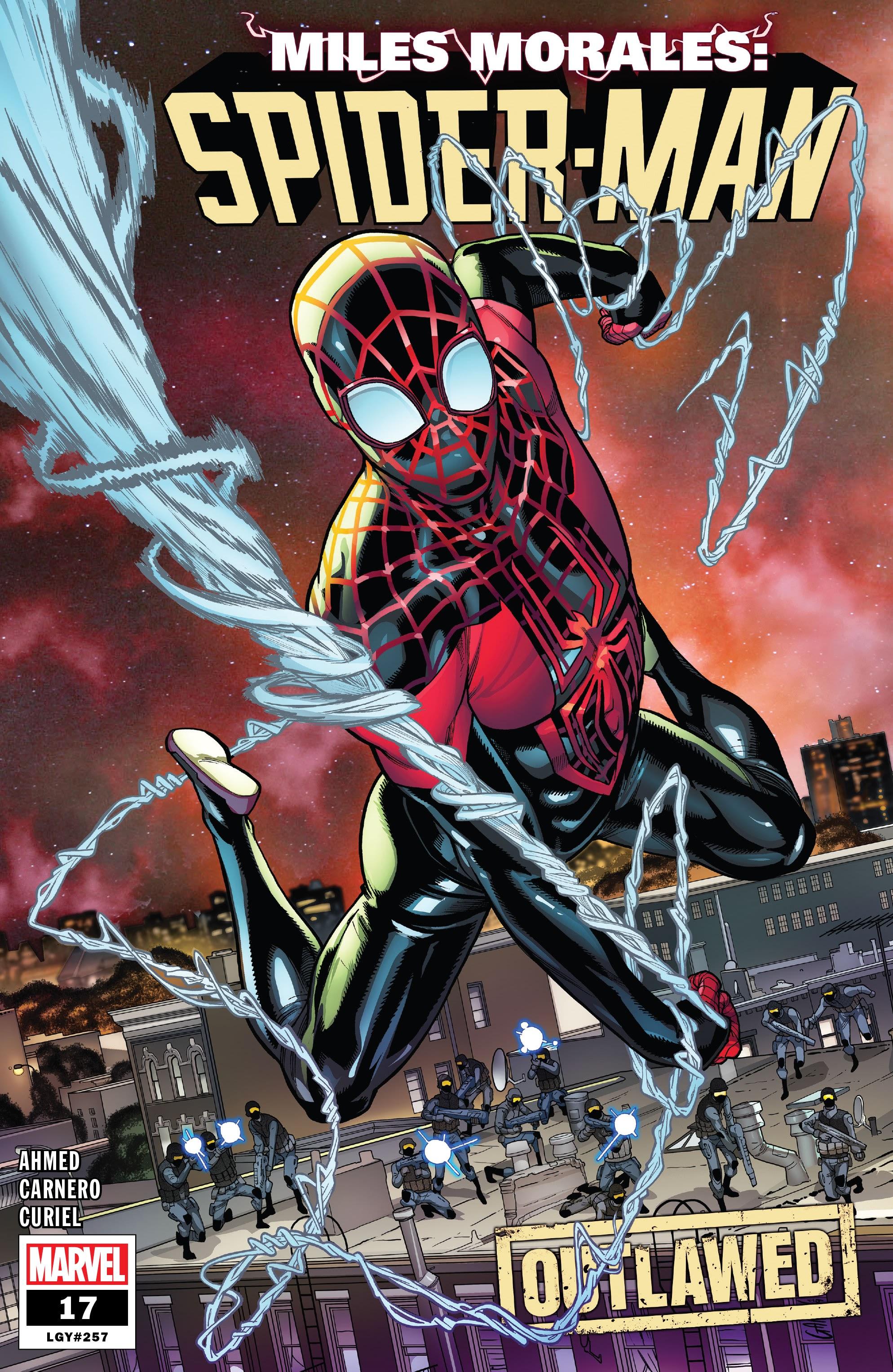 Miles Morales: Spider-Man 17 Page 1