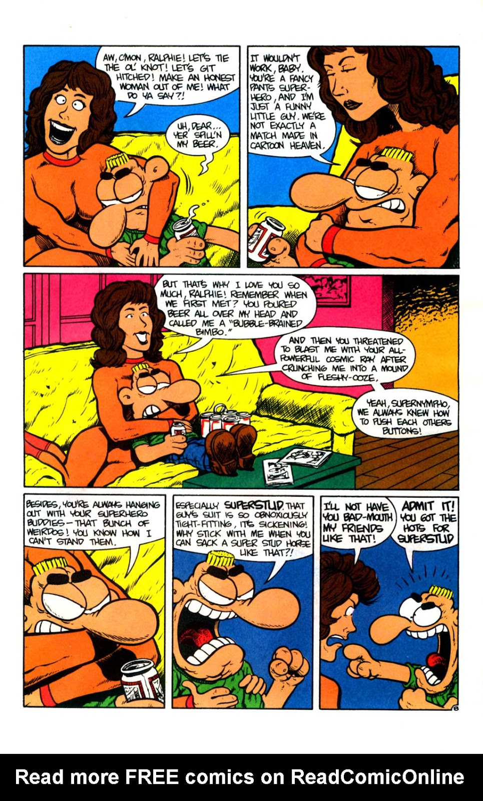 Ralph Snart Adventures (1988) issue 14 - Page 9