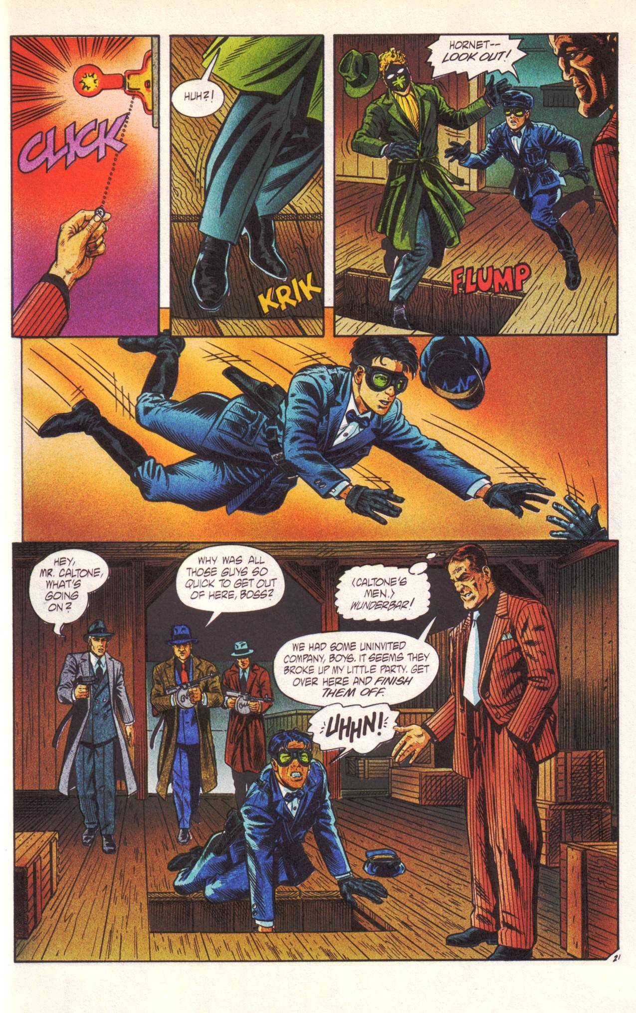 Read online Sting of The Green Hornet comic -  Issue #1 - 22