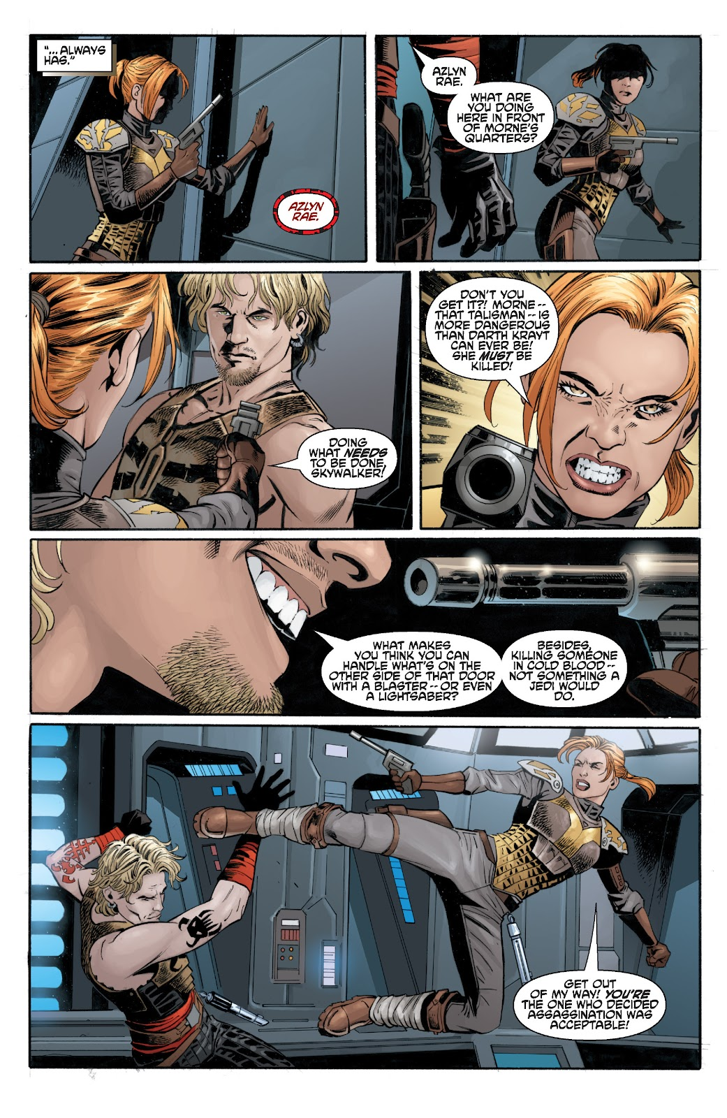 Read online Star Wars Legends: Legacy - Epic Collection comic -  Issue # TPB 2 (Part 3) - 38