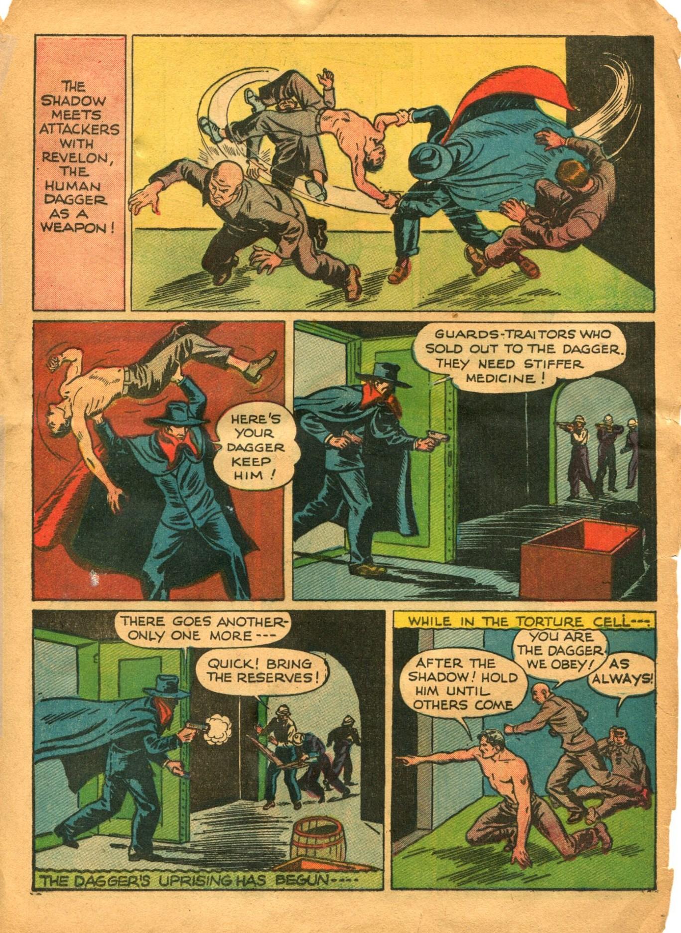 Read online Shadow Comics comic -  Issue #12 - 15