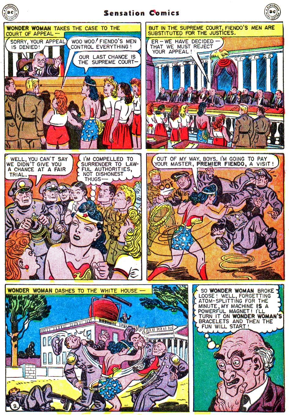 Read online Sensation (Mystery) Comics comic -  Issue #54 - 12