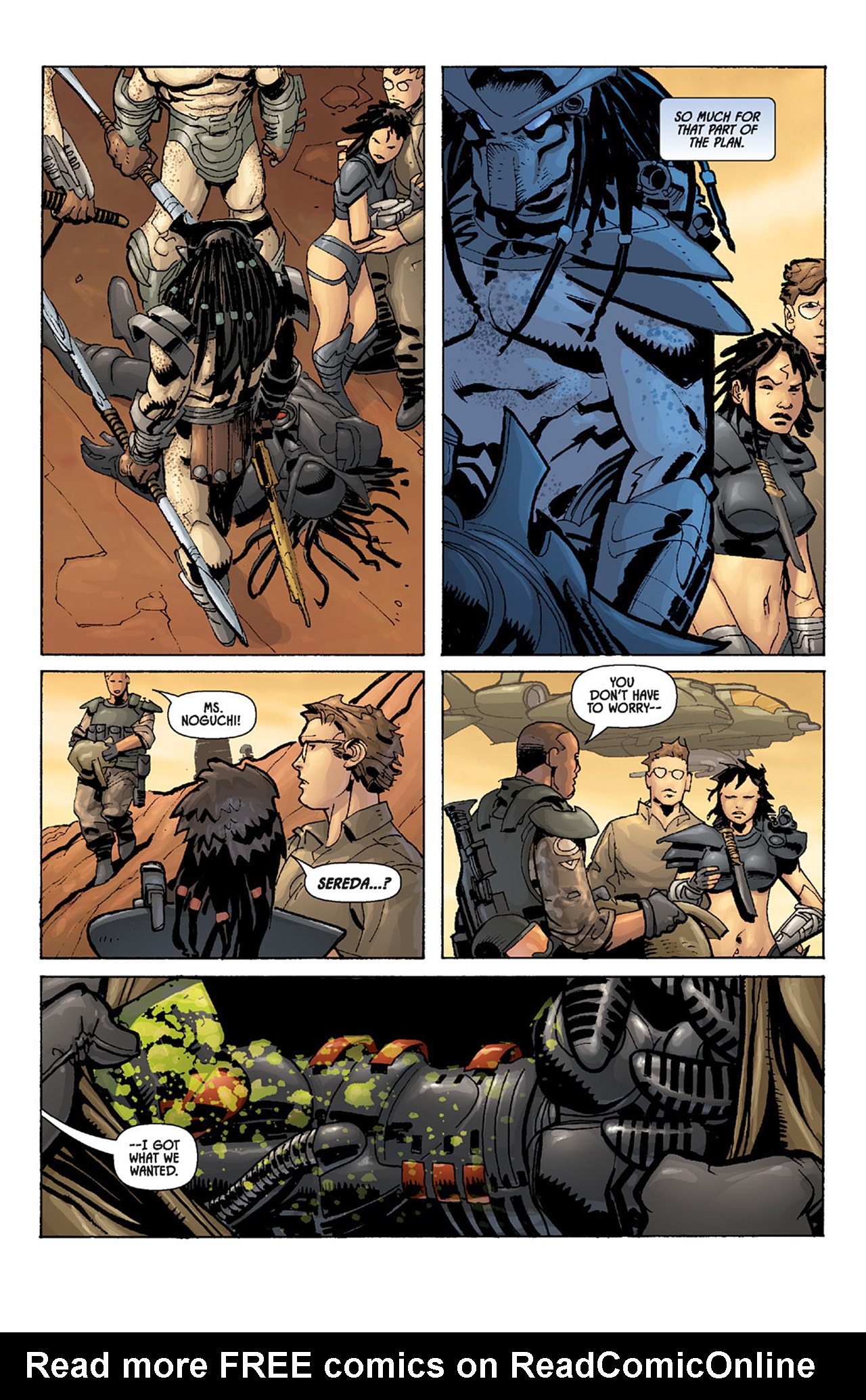 Read online Aliens vs. Predator: Three World War comic -  Issue #5 - 8