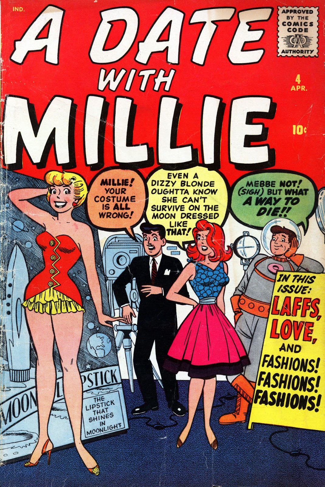 A Date with Millie (1959) issue 4 - Page 1