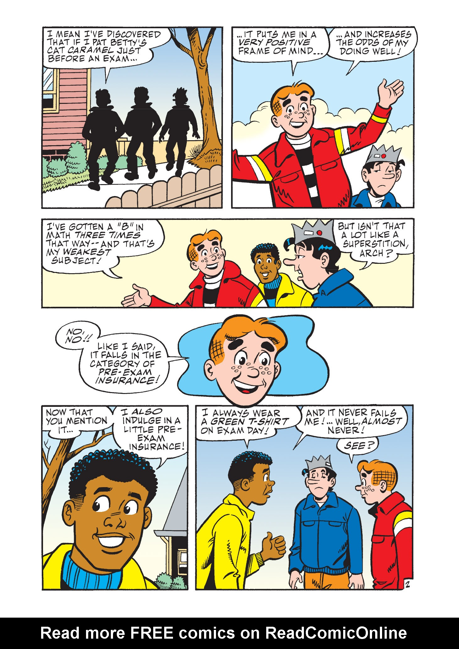 Read online Archie's Funhouse Double Digest comic -  Issue #9 - 13