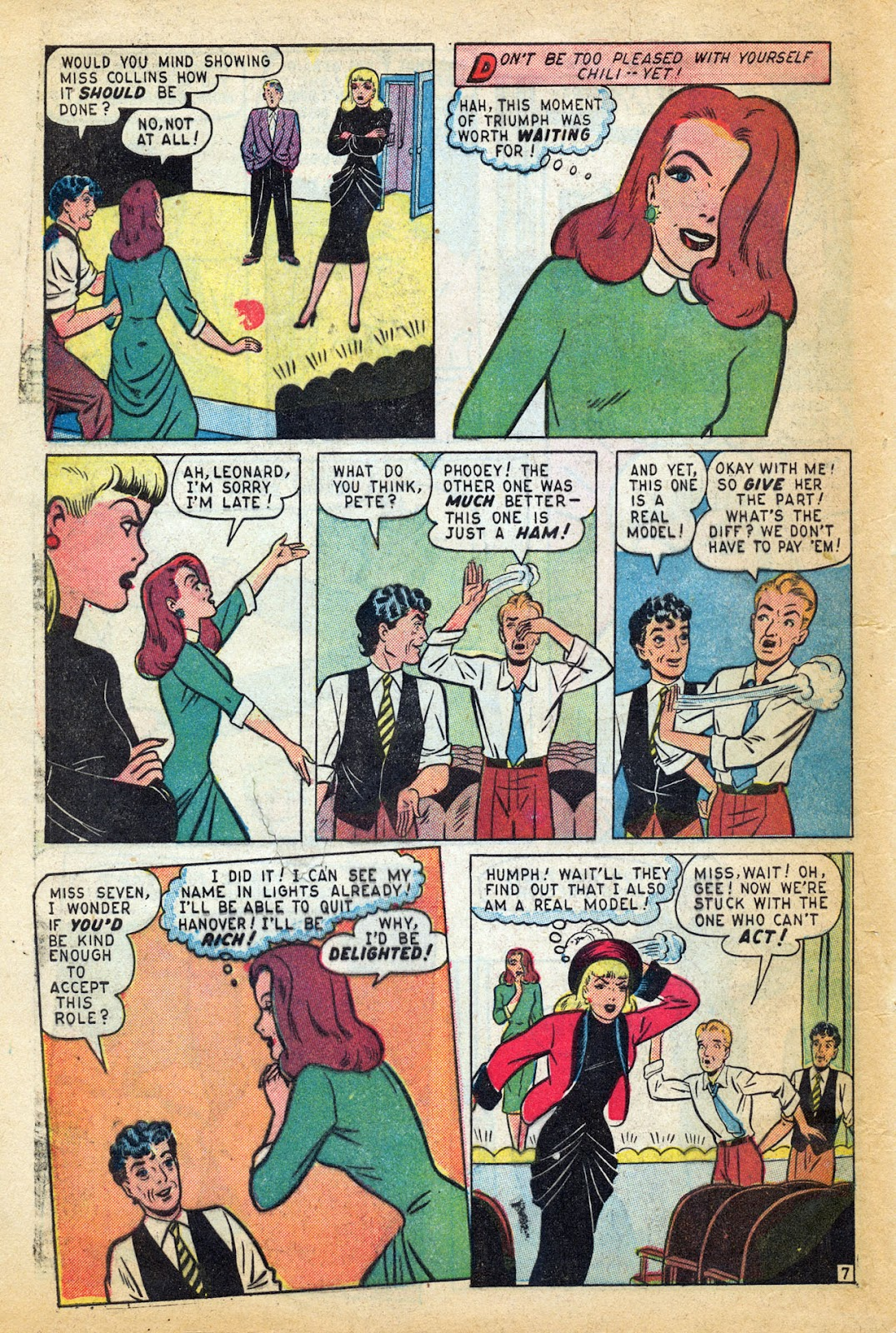 Read online Millie the Model comic -  Issue #14 - 48