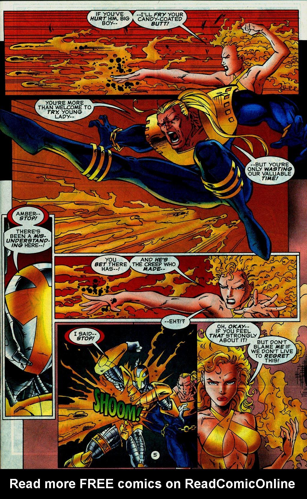 Read online UltraForce (1995) comic -  Issue #14 - 5