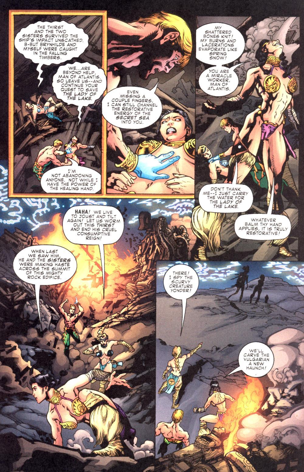 Read online Aquaman (2003) comic -  Issue #10 - 6