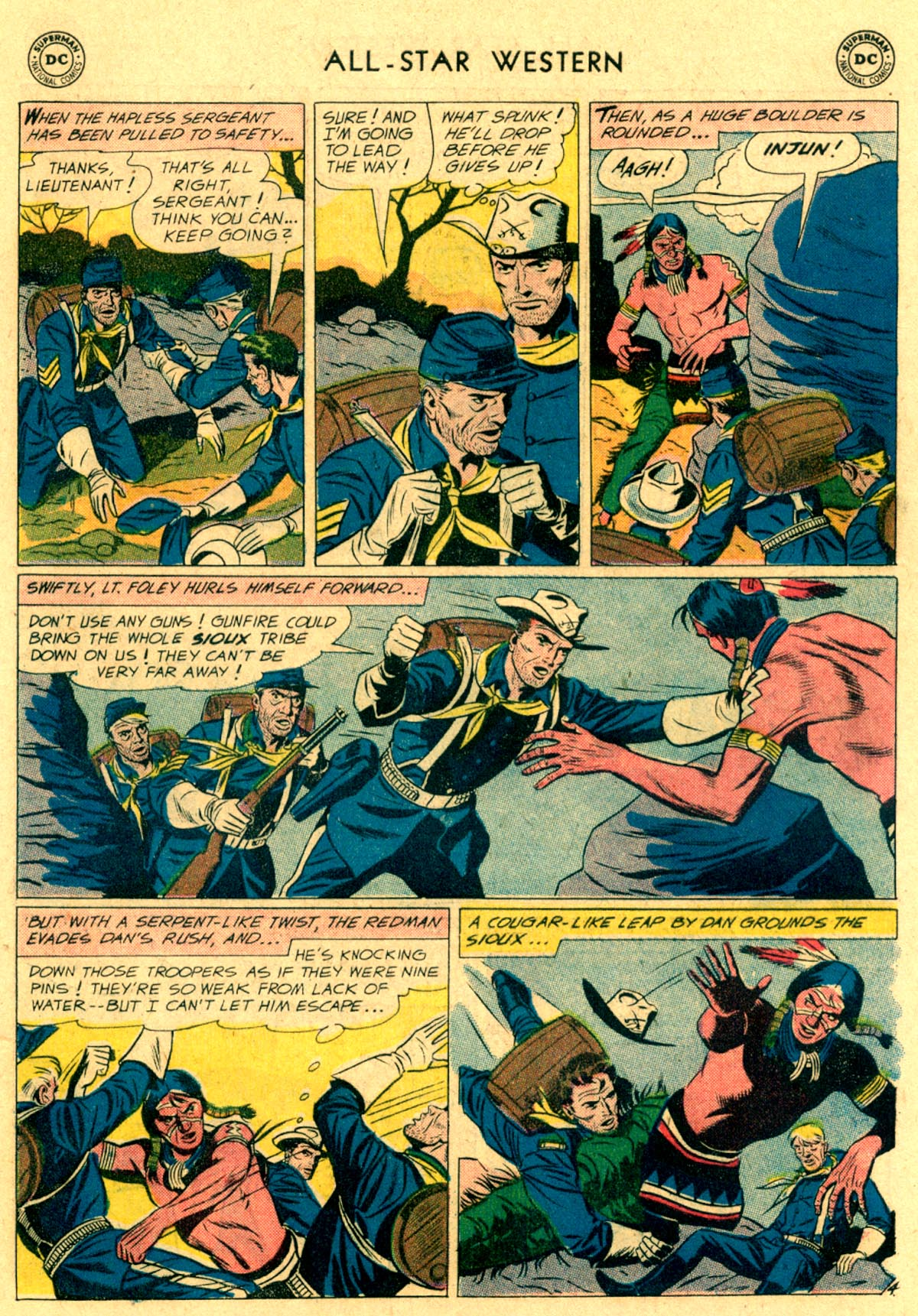 Read online All-Star Western (1951) comic -  Issue #112 - 19