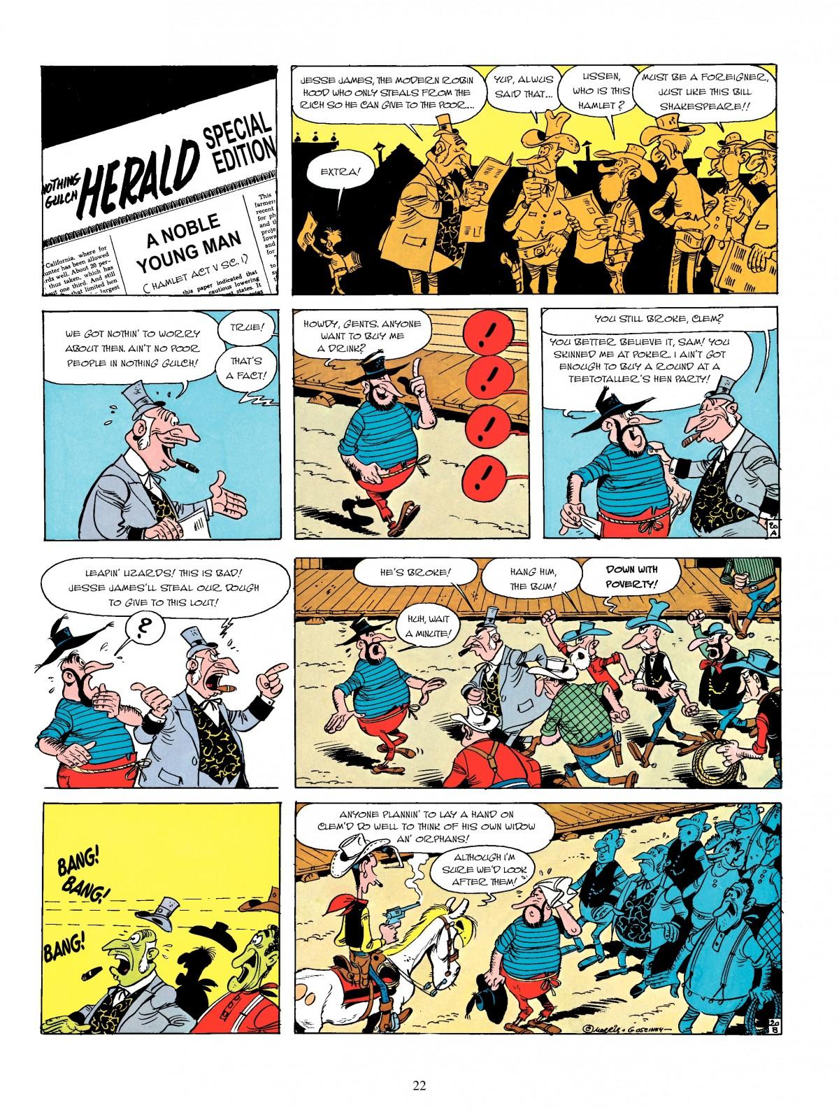 Read online A Lucky Luke Adventure comic -  Issue #4 - 24