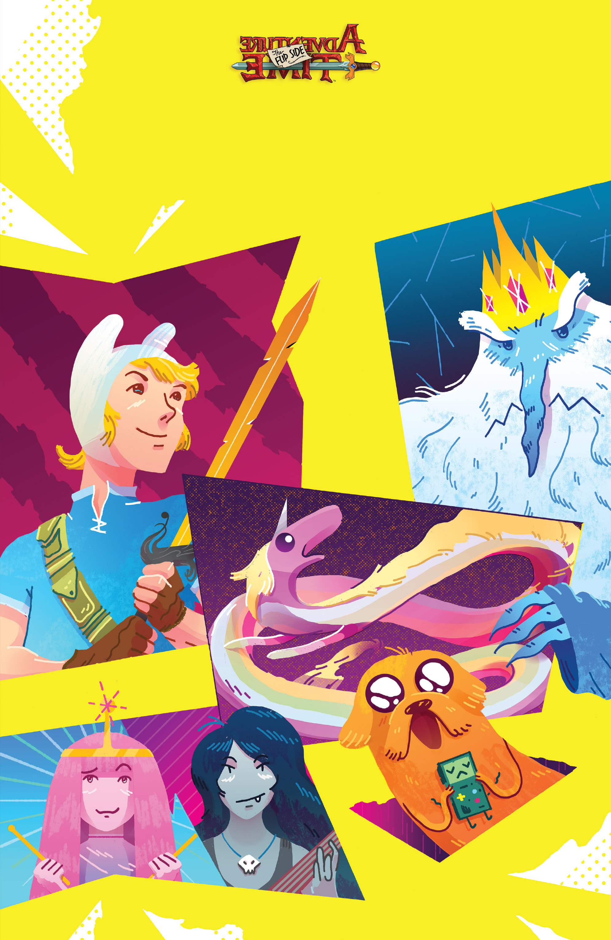 Read online Adventure Time: The Flip Side comic -  Issue #2 - 4