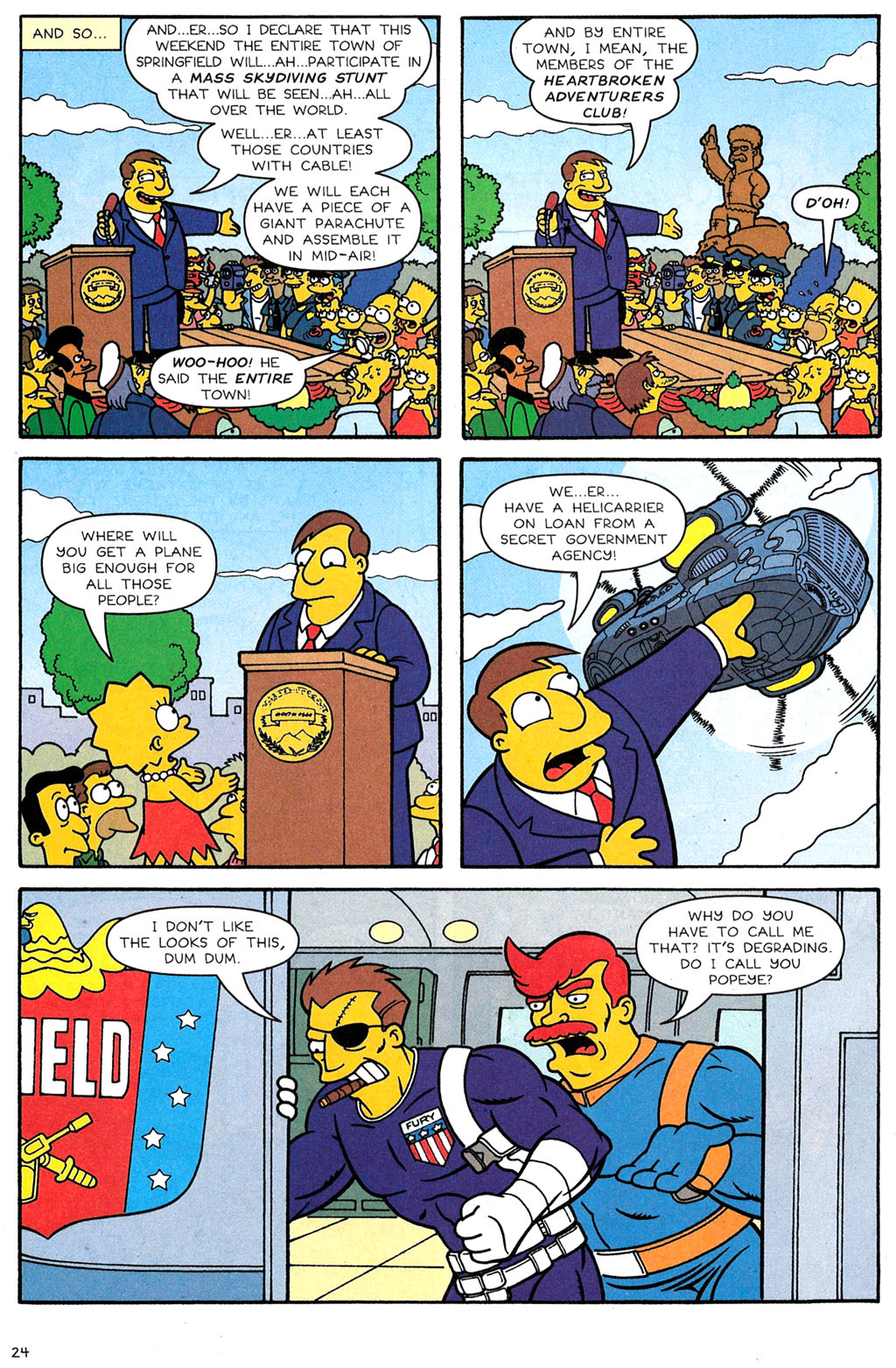 Read online Simpsons Comics comic -  Issue #118 - 20
