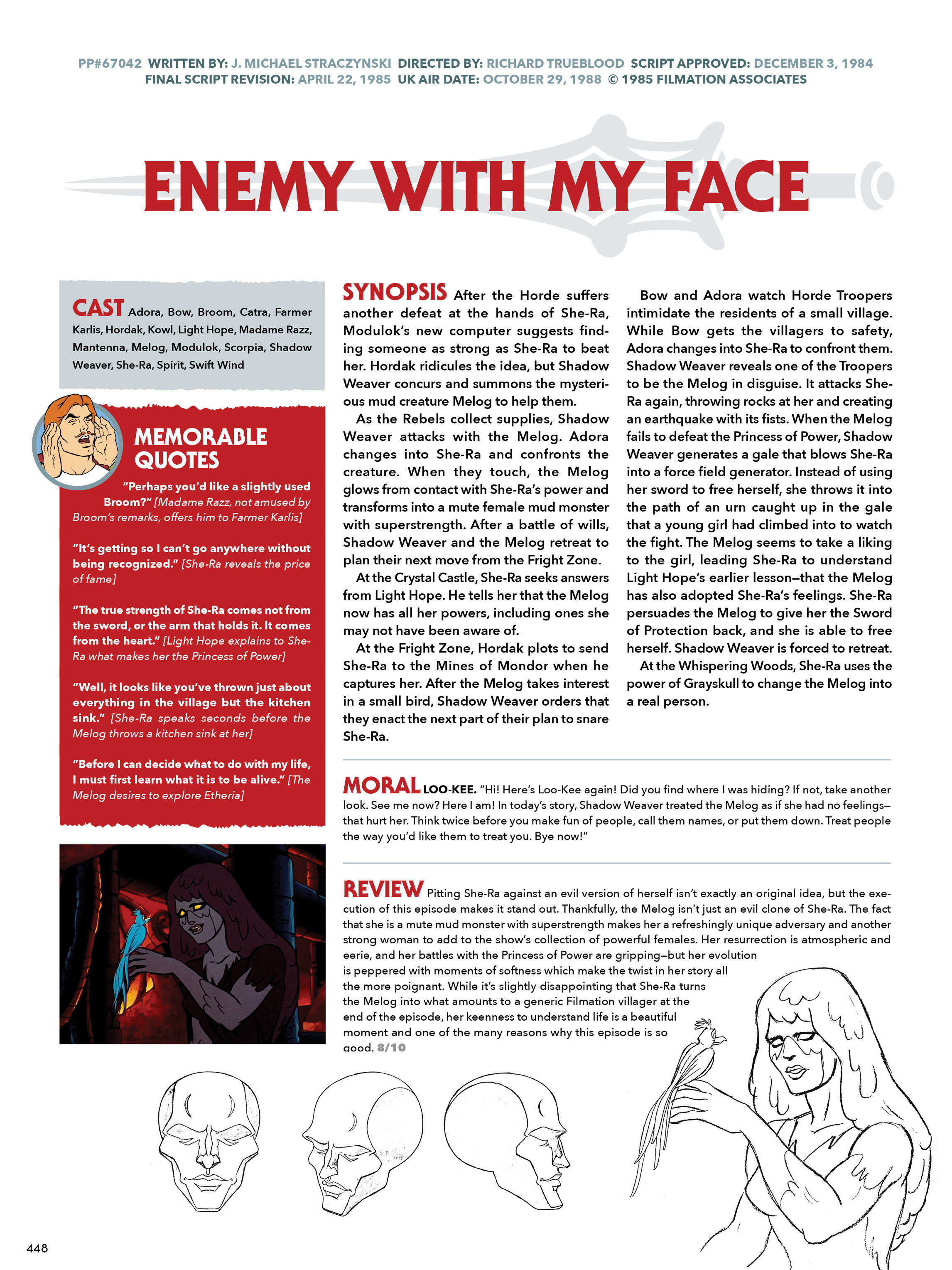 Read online He-Man and She-Ra: A Complete Guide to the Classic Animated Adventures comic -  Issue # TPB (Part 3) - 48