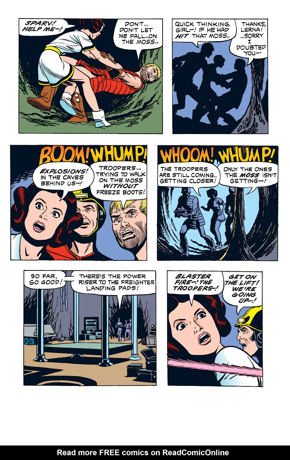 Read online Star Wars Legends: The Newspaper Strips - Epic Collection comic -  Issue # TPB (Part 2) - 69