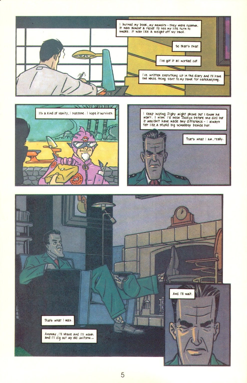 Read online Dare comic -  Issue #4 - 7