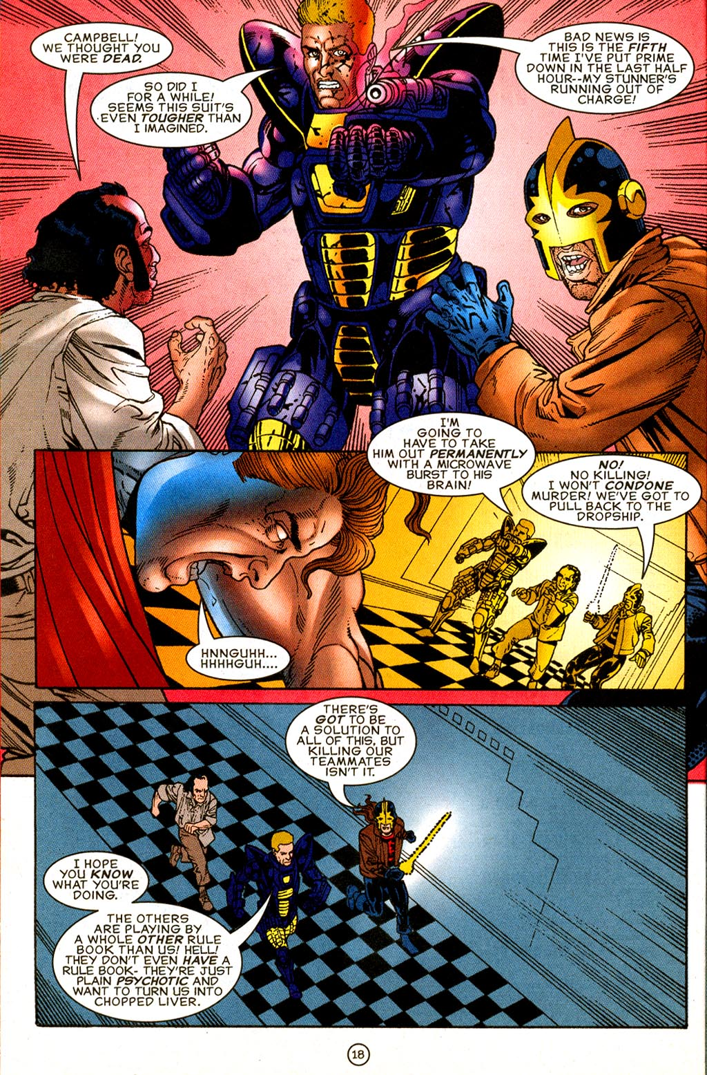 Read online UltraForce (1995) comic -  Issue #8 - 19
