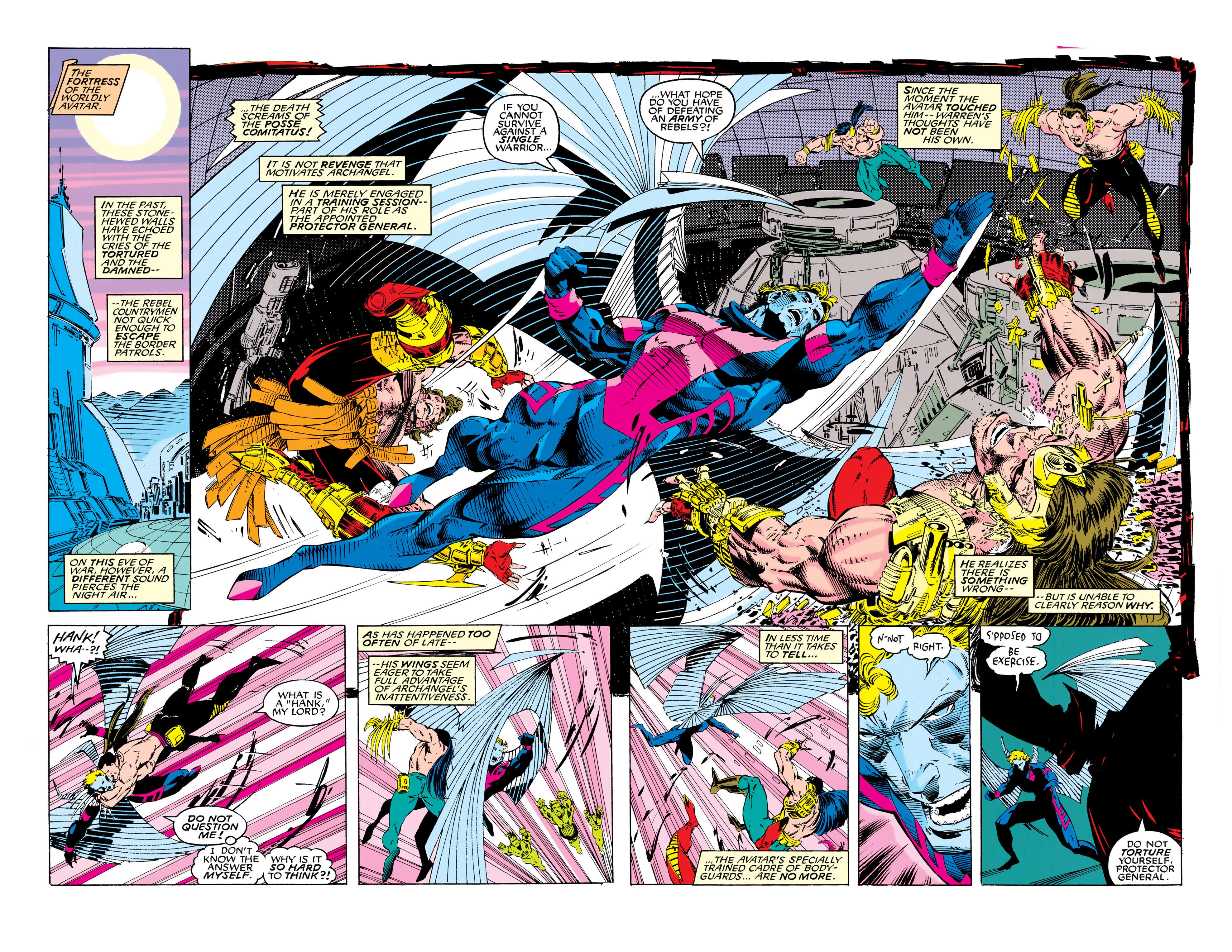 Read online Uncanny X-Men (1963) comic -  Issue #286 - 12