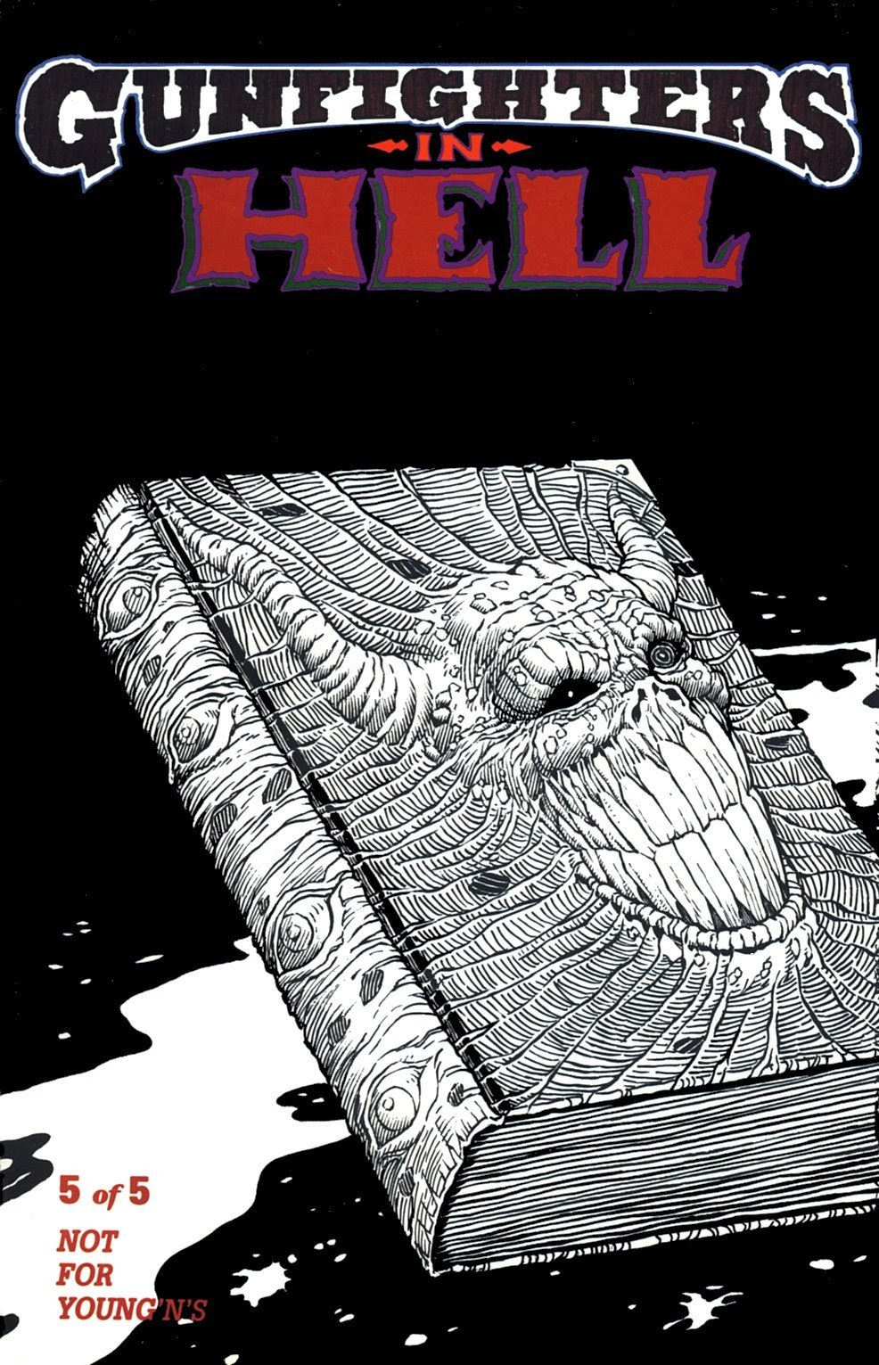 Read online Gunfighters in Hell comic -  Issue #5 - 1