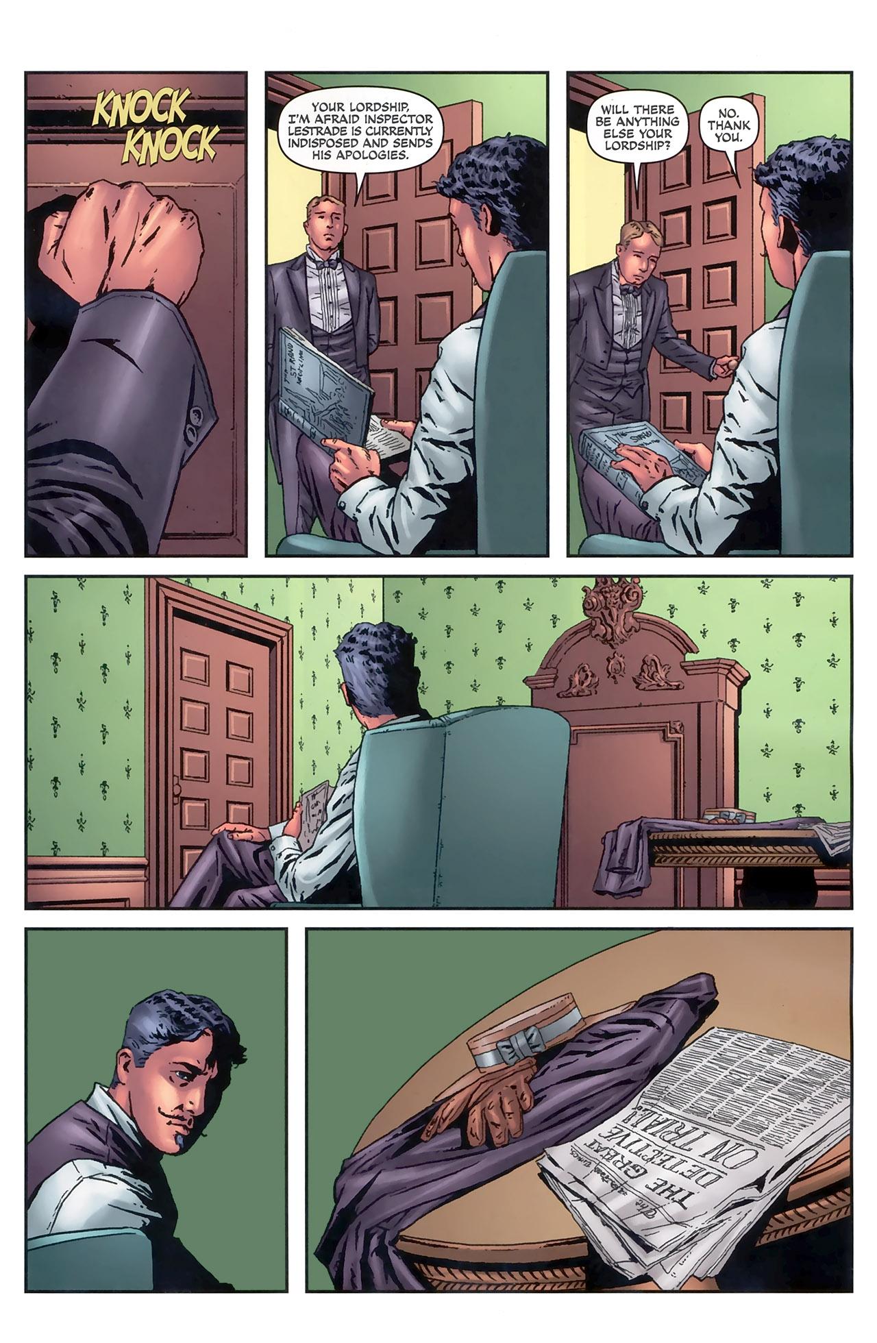 Read online Sherlock Holmes (2009) comic -  Issue #5 - 7