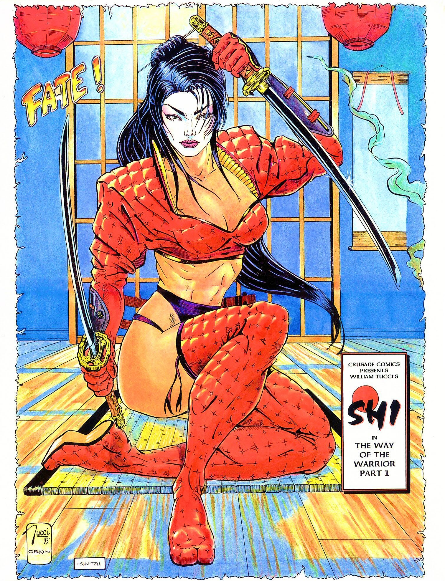 Read online Shi: The Way of the Warrior comic -  Issue #1 - 10