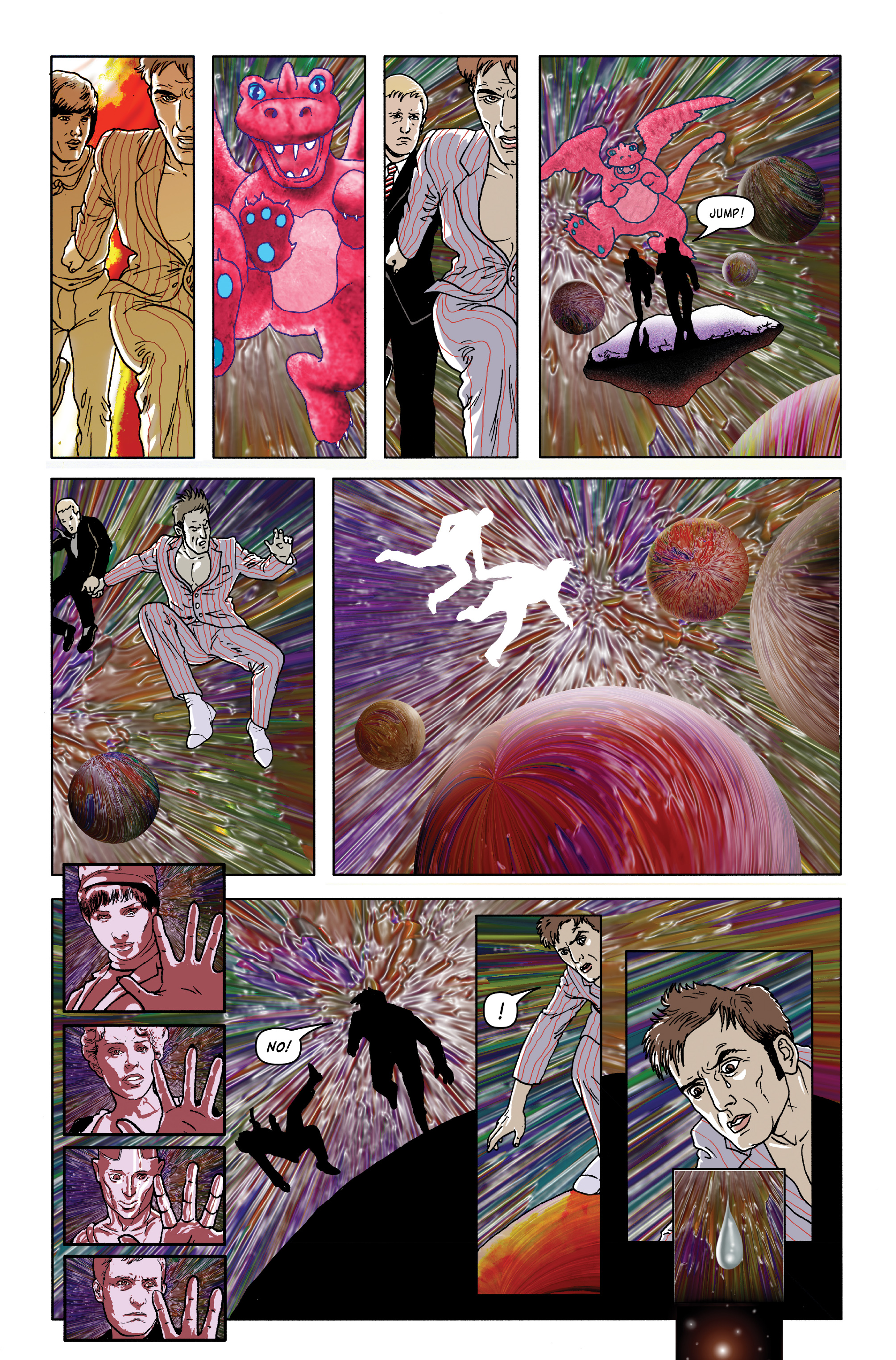 Read online Doctor Who: The Tenth Doctor Archives comic -  Issue #35 - 42
