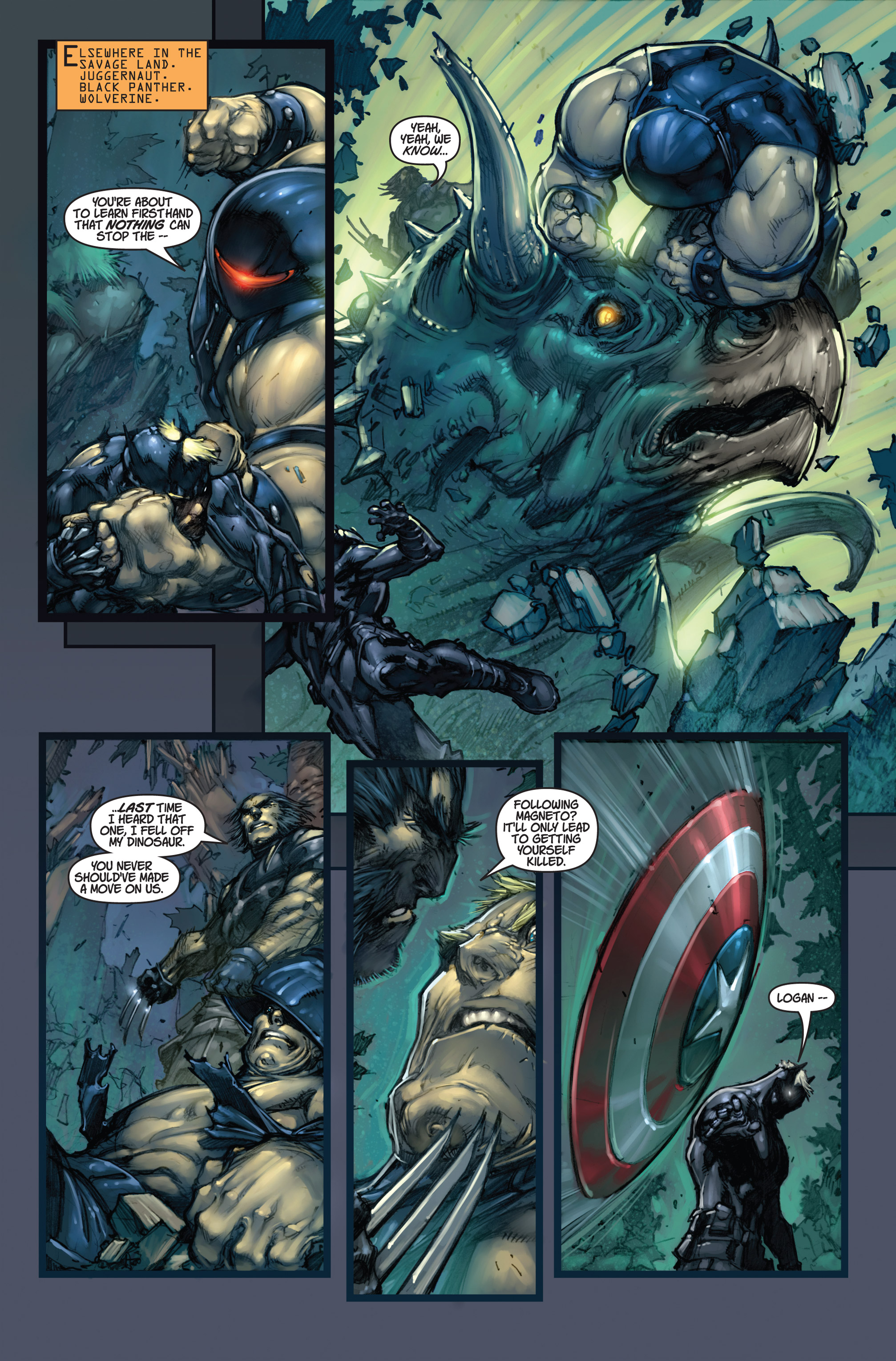 Read online Ultimates 3 comic -  Issue #5 - 10