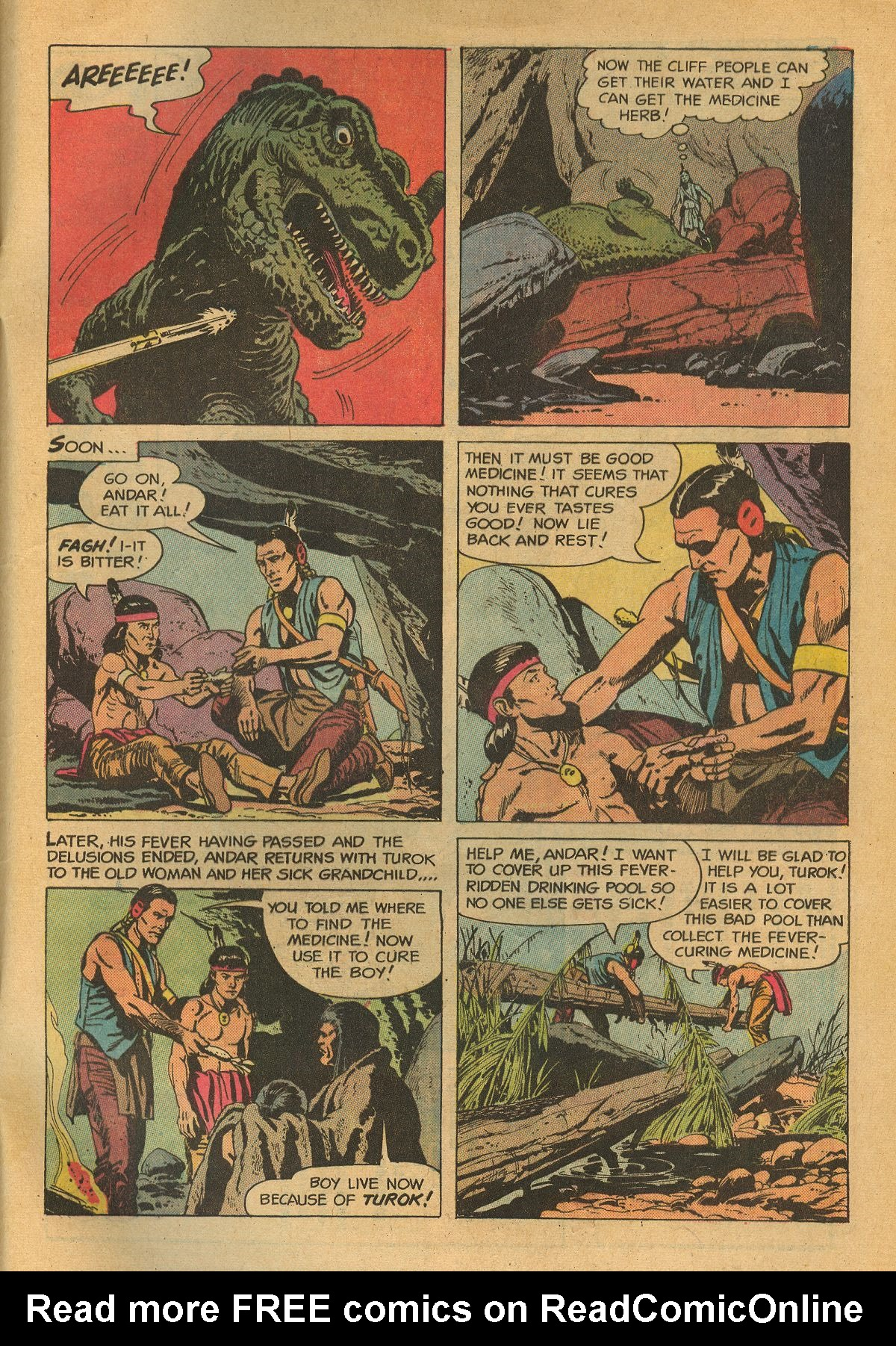 Read online Turok, Son of Stone comic -  Issue #75 - 32