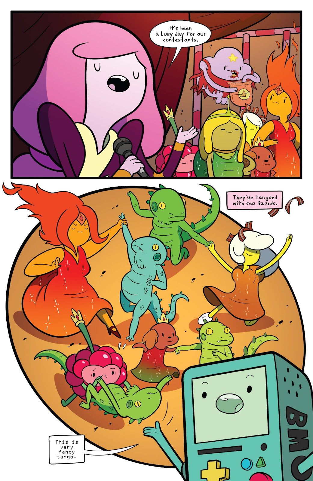 Read online Adventure Time comic -  Issue #63 - 6