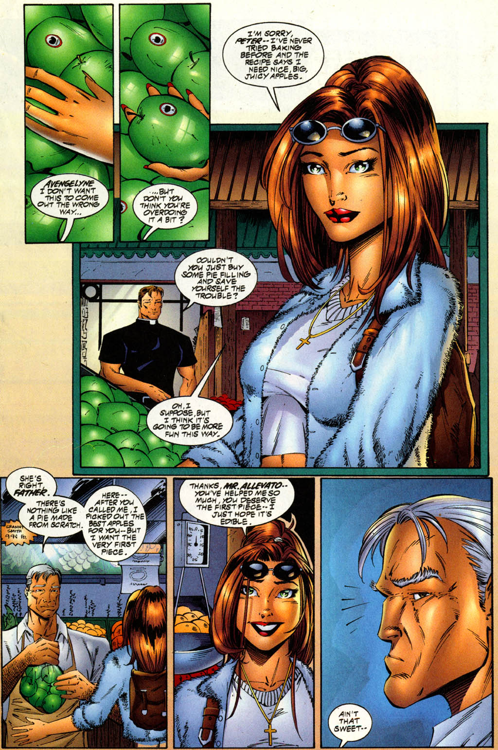 Read online Avengelyne (1996) comic -  Issue #8 - 3