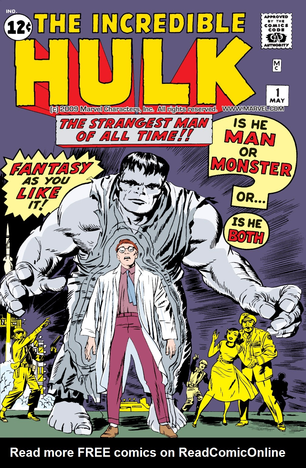 Read online Marvel Masterworks: The Incredible Hulk comic -  Issue # TPB 1 (Part 1) - 3