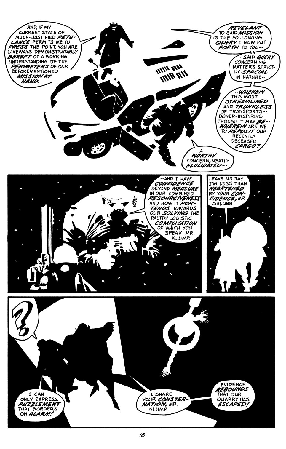 Read online Sin City: That Yellow Bastard comic -  Issue #6 - 18