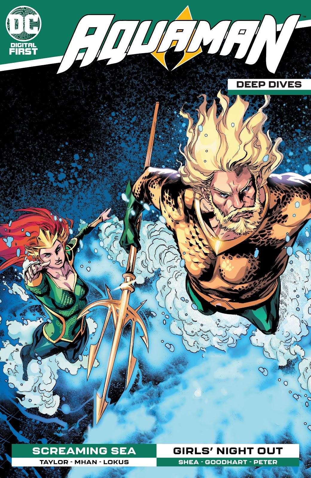 Aquaman: Deep Dives 9 Page 1