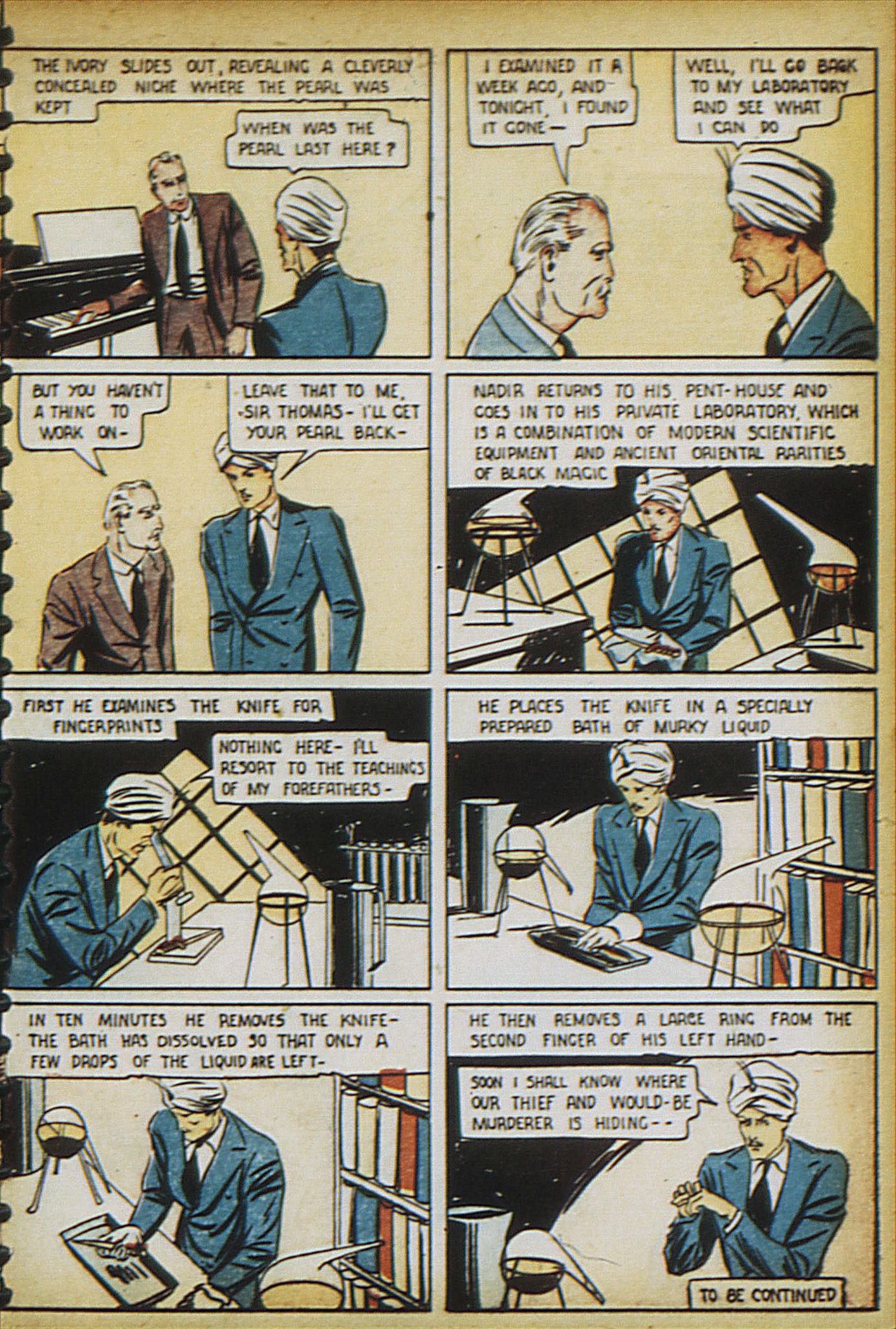 Read online Adventure Comics (1938) comic -  Issue #17 - 10
