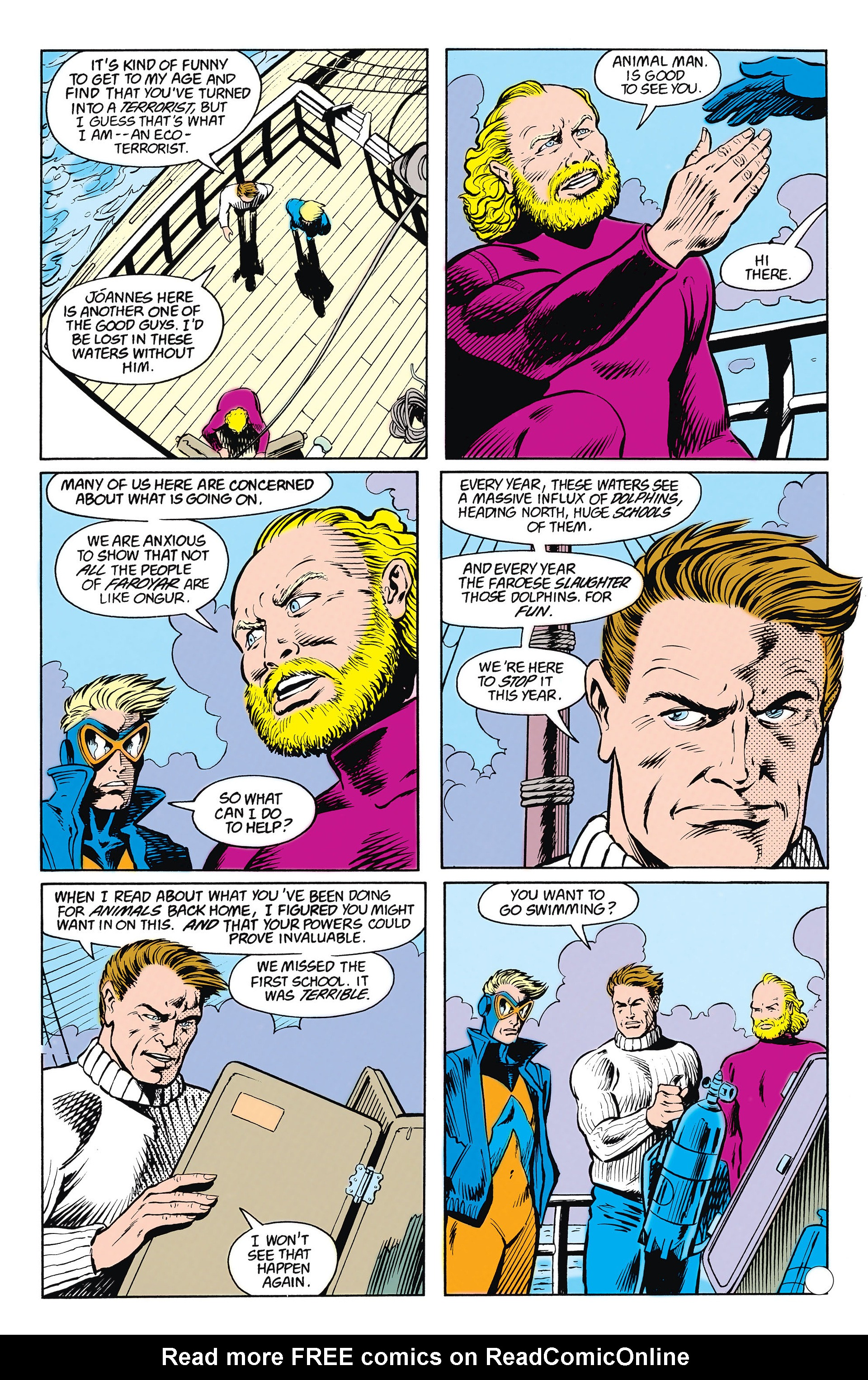 Read online Animal Man (1988) comic -  Issue #15 - 8