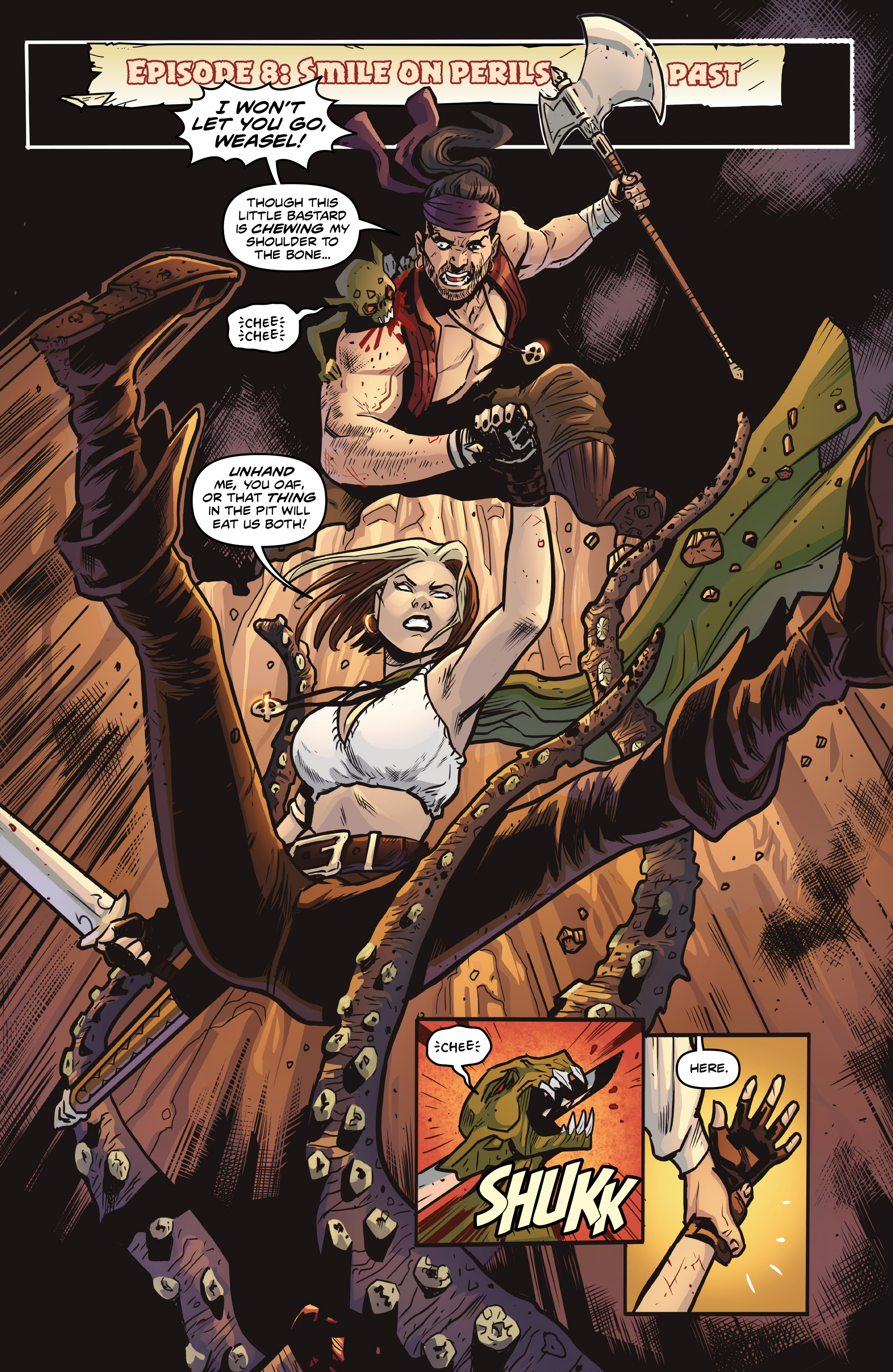 Read online Rogues!: The Burning Heart comic -  Issue #5 - 14