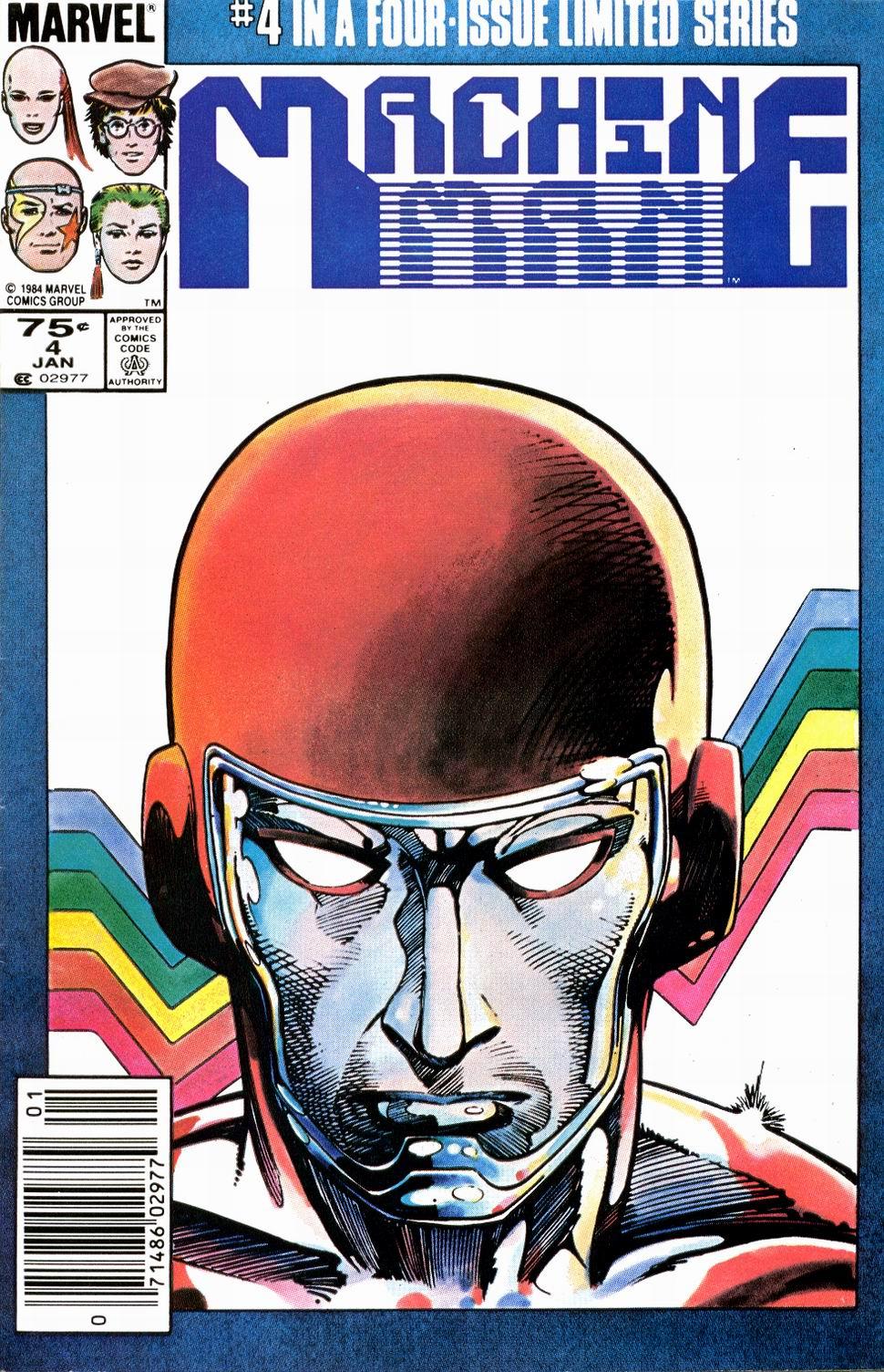 Machine Man (1984) 4 Page 1