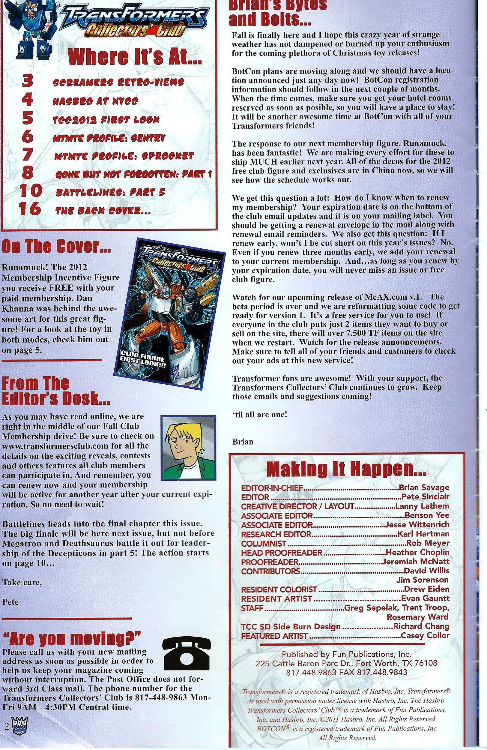 Read online Transformers: Collectors' Club comic -  Issue #41 - 2