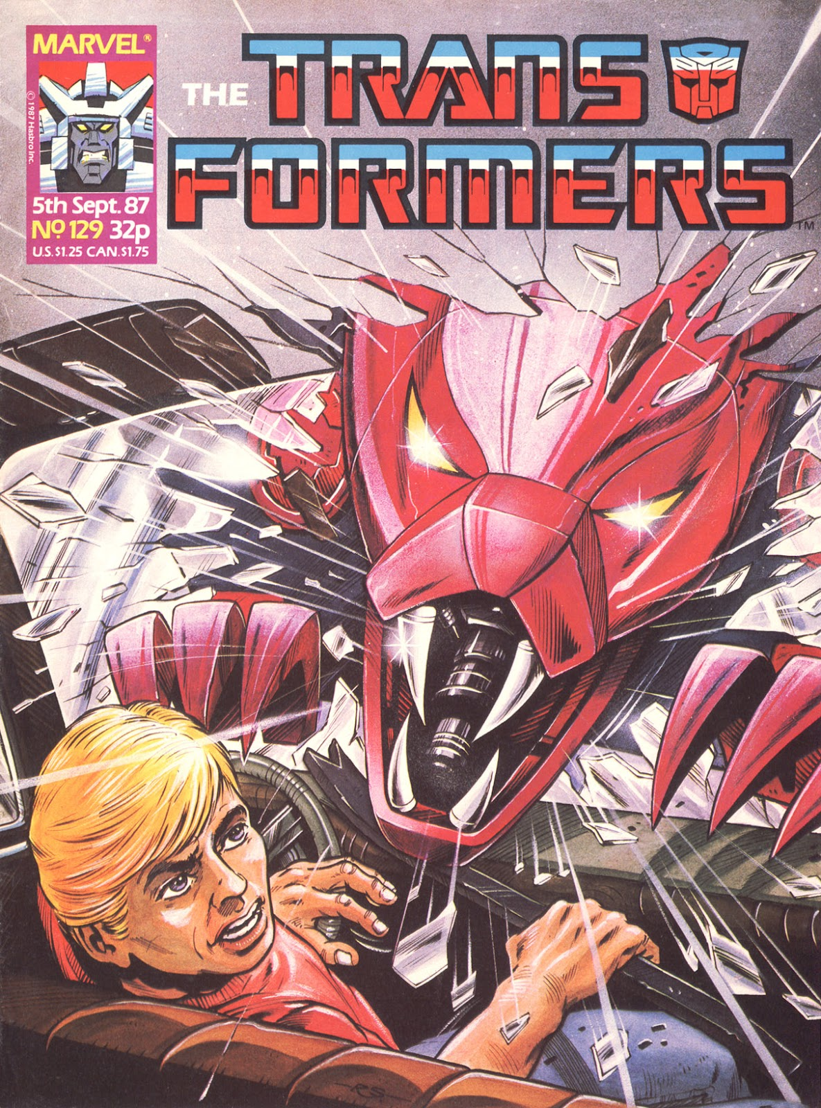 The Transformers (UK) 129 Page 1