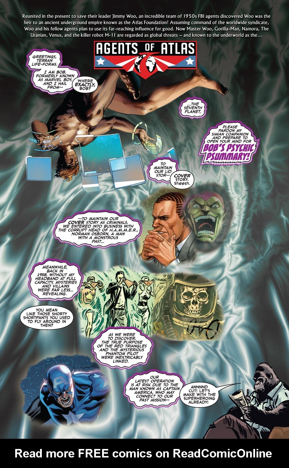 Read online Agents Of Atlas (2009) comic -  Issue #4 - 2